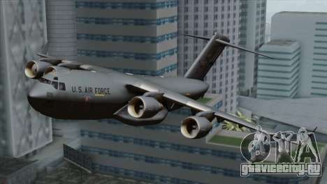 C-17A Globemaster III USAF Mississippi для GTA San Andreas