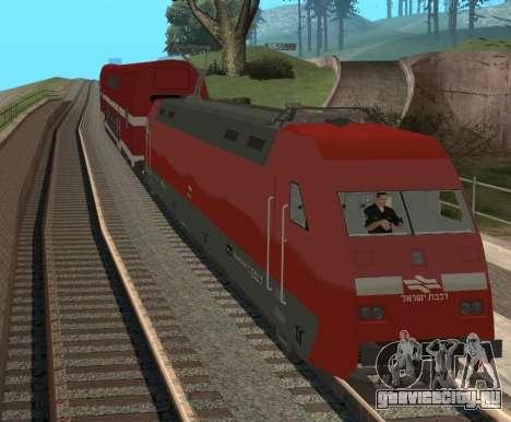 Israeli Train для GTA San Andreas вид слева