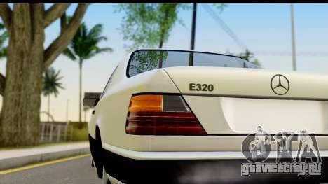 Mercedes Benz E320 W124 Coupe для GTA San Andreas вид справа
