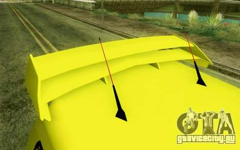 Daihatsu Espass Angkot YRT для GTA San Andreas вид сзади