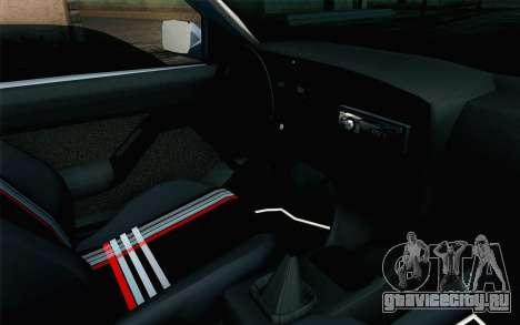 Volkswagen Golf Mk3 Eurolook для GTA San Andreas вид справа