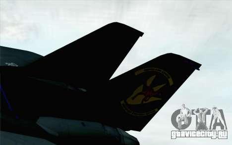 F-14 Raptor Squadron Force для GTA San Andreas вид сзади слева