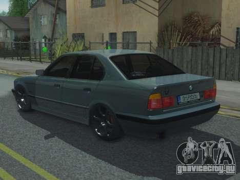 BMW 525 E34 Tune для GTA San Andreas вид слева