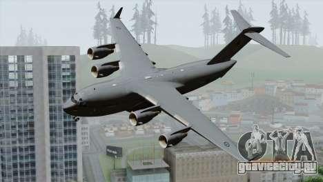 C-17A Globemaster III RAF для GTA San Andreas