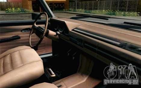 Pickup from Alan Wake для GTA San Andreas вид справа
