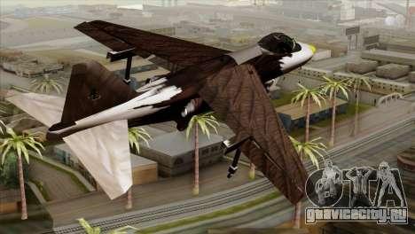 Hydra Eagle для GTA San Andreas вид слева