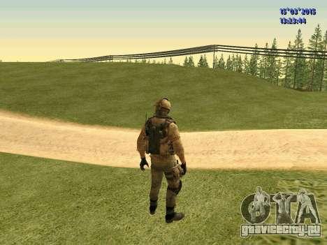 Милиционер ополчения Донбасса для GTA San Andreas третий скриншот
