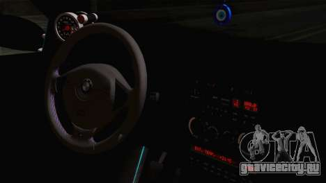 BMW E36 M3 Cabrio для GTA San Andreas вид справа
