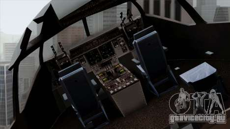 C-17A Globemaster III NATO для GTA San Andreas вид сзади