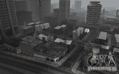 Черно-белый ColorMod для GTA San Andreas третий скриншот