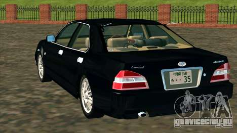 Nissan Laurel GC35 Kouki для GTA San Andreas вид сзади слева