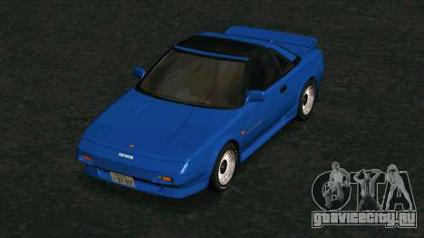 Toyota MR2 1600 G-Limited (AW11) для GTA San Andreas вид изнутри