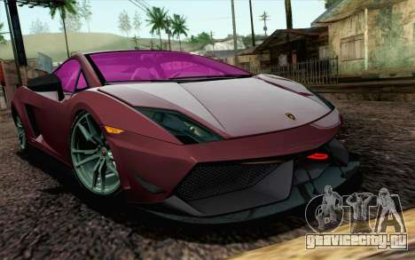 Lamborghini Gallardo LP570-4 Superleggera 2011 для GTA San Andreas