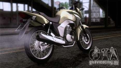 Honda CG Titan 150 2014 для GTA San Andreas вид слева