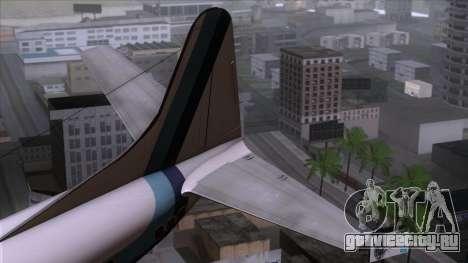 L-188 Electra Eastern Als для GTA San Andreas вид сзади слева