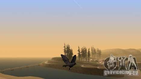 Возможность из GTA V играть за птицу V.1 для GTA San Andreas пятый скриншот
