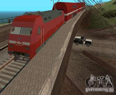 Israeli Train для GTA San Andreas вид сзади слева