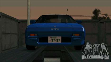 Toyota MR2 1600 G-Limited (AW11) для GTA San Andreas вид слева