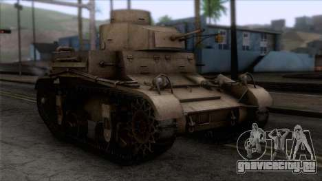 M2 Light Tank для GTA San Andreas