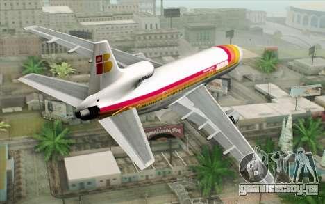 Lookheed L-1011 Iberia для GTA San Andreas вид слева