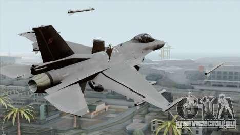 F-16C Block 52 PJ для GTA San Andreas вид слева