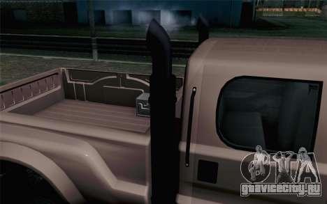 Vapid Guardian GTA 5 для GTA San Andreas вид сзади