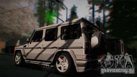 Mercedes-Benz G65 2013 Hamann Body для GTA San Andreas