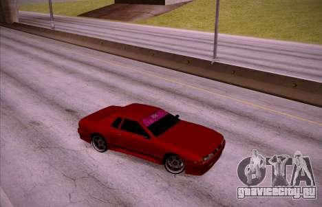 NGT Elegy для GTA San Andreas вид сзади слева