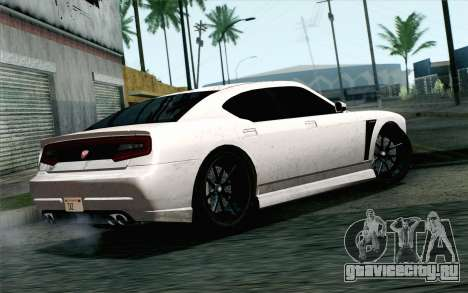 GTA 5 Bravado Buffalo S v2 IVF для GTA San Andreas вид слева