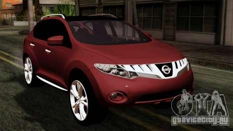 Nissan Murano 2008 для GTA San Andreas