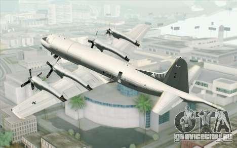 Lockheed P-3 Orion German Navy для GTA San Andreas вид слева