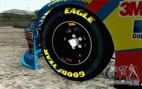 NASCAR Ford Fusion 2012 Short Track для GTA San Andreas вид сзади слева