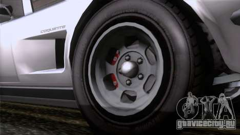 GTA 5 Invetero Coquette Classic TL для GTA San Andreas вид сзади слева