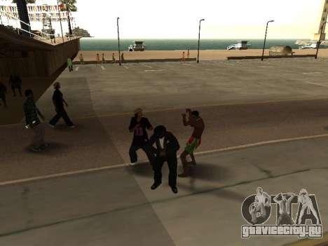 CLEO Рукоблудство для GTA San Andreas третий скриншот
