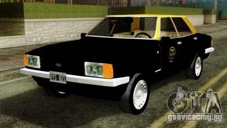 Ford Taunus 1981 Taxi Argentina для GTA San Andreas