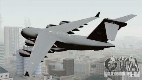 C-17A Globemaster III NATO для GTA San Andreas вид слева