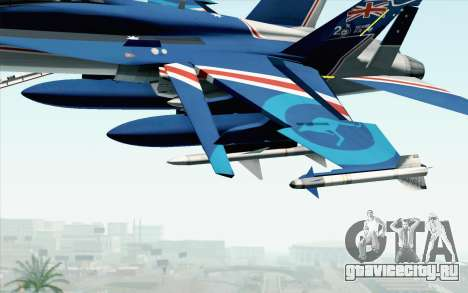 F-18D RAAF 20th Anniversary для GTA San Andreas вид справа
