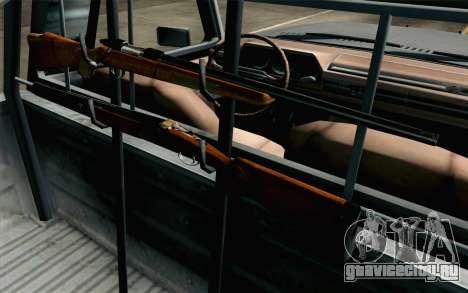 Pickup from Alan Wake для GTA San Andreas вид изнутри