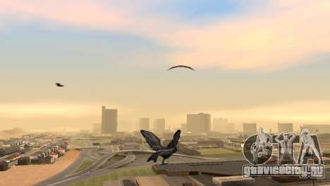Возможность из GTA V играть за птицу V.1 для GTA San Andreas восьмой скриншот
