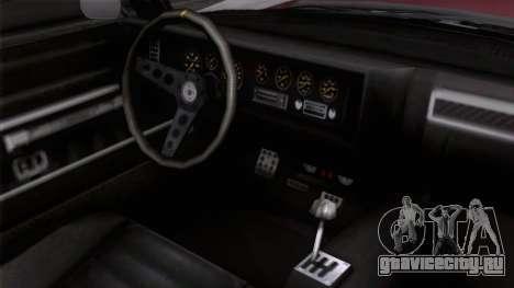 GTA 5 Invetero Coquette Classic TL для GTA San Andreas вид справа