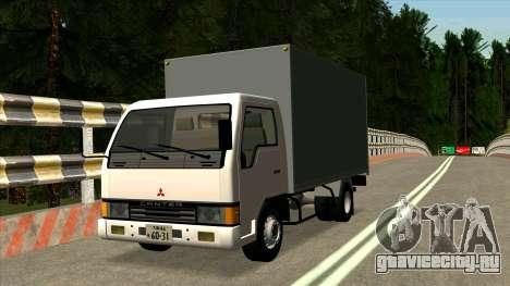 Mitsubishi Fuso Canter 1989 Aluminium Van для GTA San Andreas