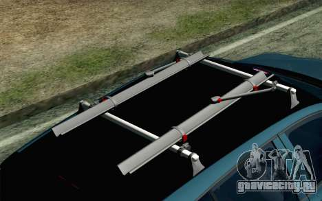 Volkswagen Golf для GTA San Andreas вид справа