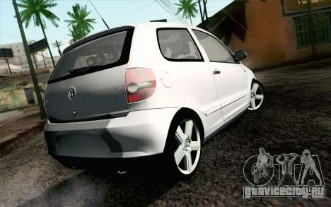 Volkswagen Fox для GTA San Andreas вид слева