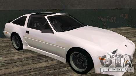 Nissan Fairlady Z 300ZX (Z31) для GTA San Andreas вид слева