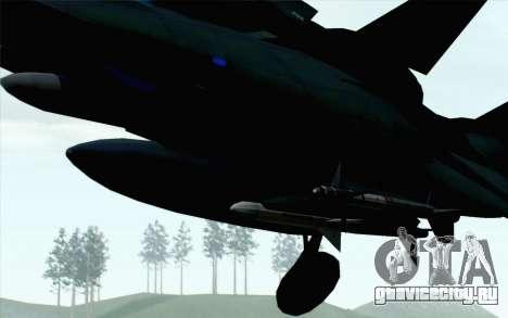 F-14 Raptor Squadron Force для GTA San Andreas вид справа