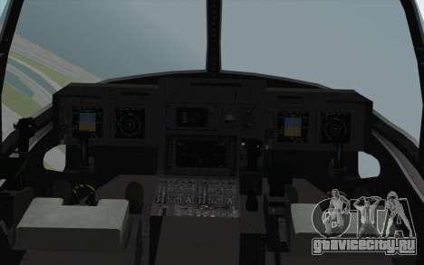 MV-22 Osprey VMM-265 Dragons для GTA San Andreas вид справа