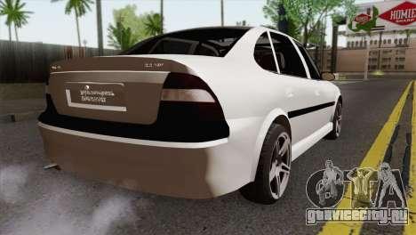 Opel Vectra 2.2 Stock для GTA San Andreas вид слева