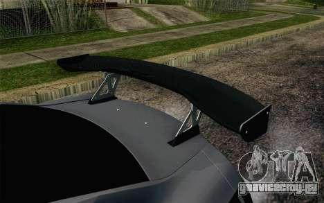 Nissan GT-R 2014 RocketBunny для GTA San Andreas вид сзади