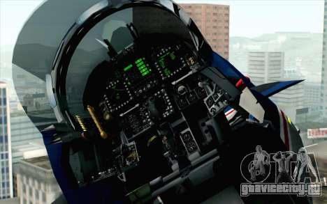 F-18D RAAF 20th Anniversary для GTA San Andreas вид сзади