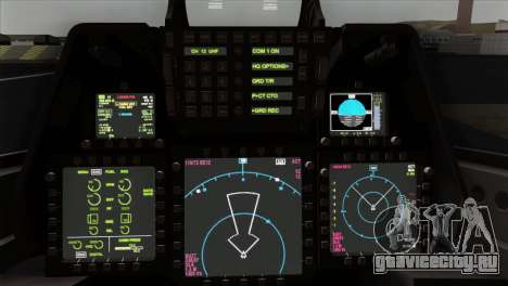 F-22 Raptor 02 для GTA San Andreas вид справа